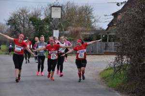 Jo Whelan Showboating at Stowmarket Half 2016