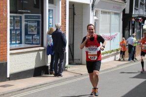 Jimmy Russell at Woodbridge 10K 2016