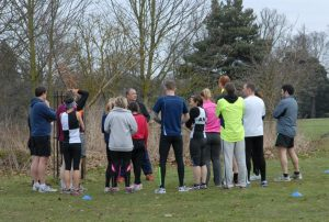 Ipswich parkrun #22 - 16th February [Me getting my first runners briefing]